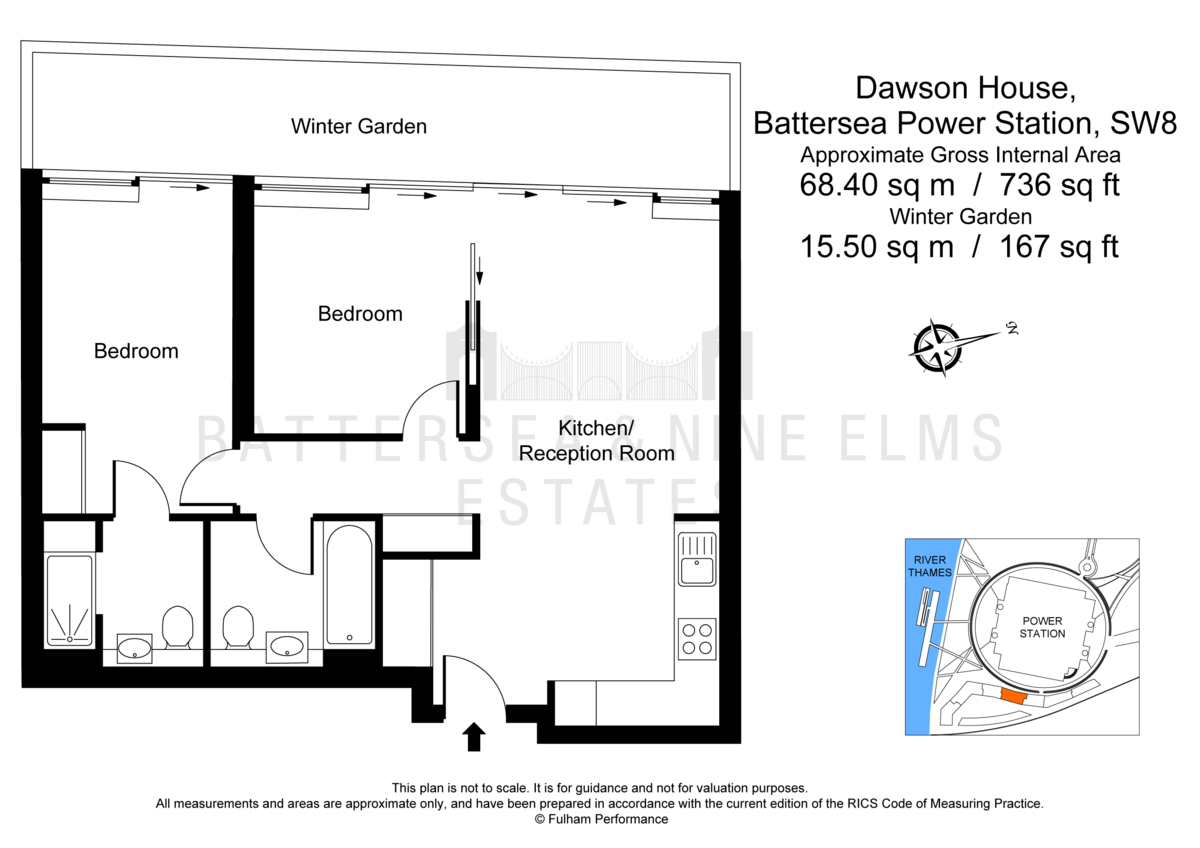 2 bedroom apartments to rent in dawson house battersea power